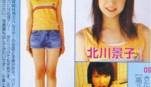 北川景子が水着姿のセブンティーン画像とは!スタイルは抜群?